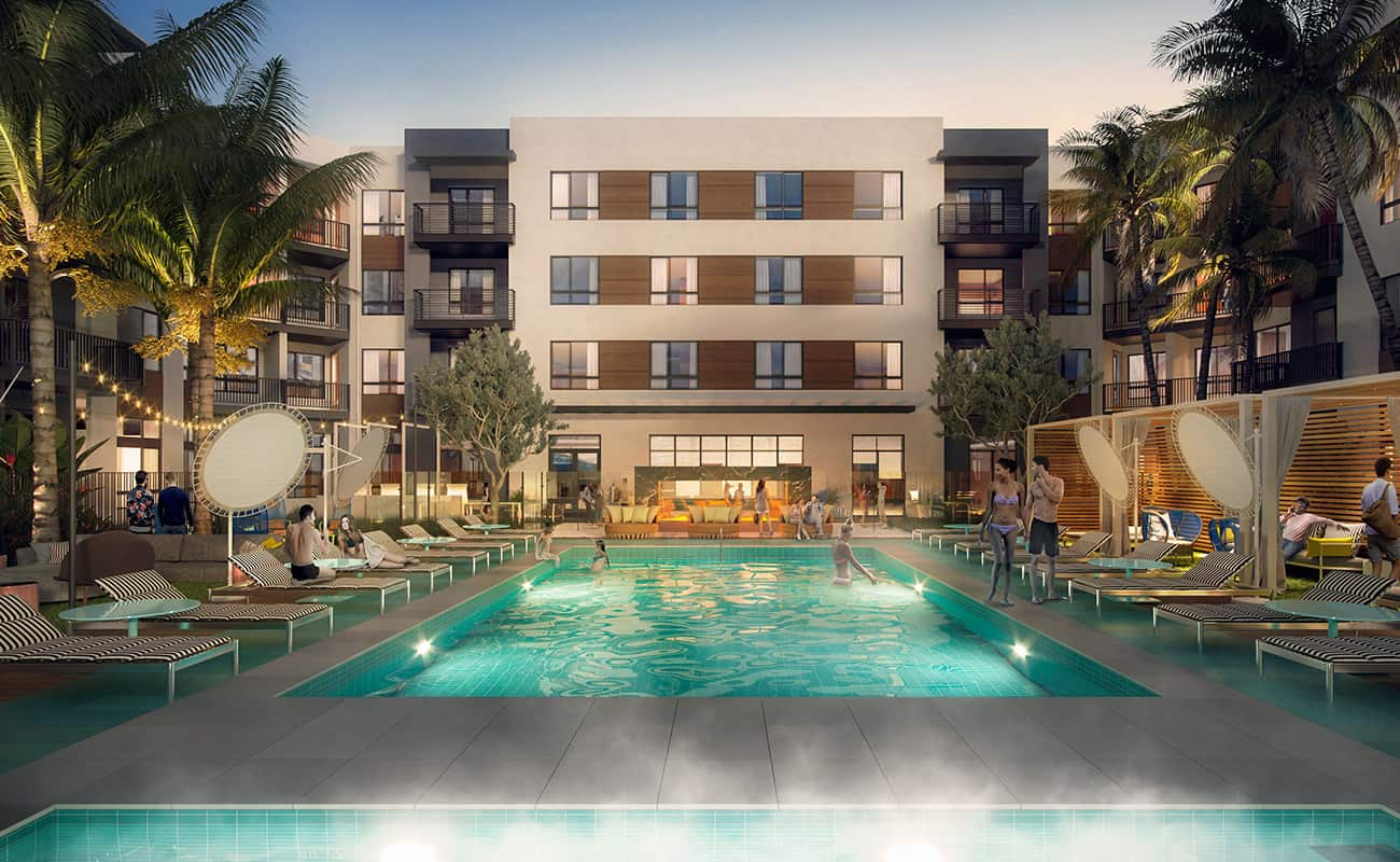 AmpliFi - Resort-Style Pool